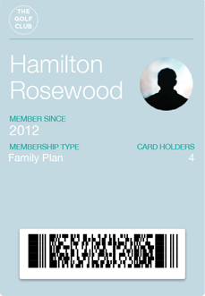 Mobile Membership Card